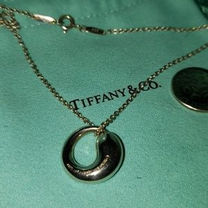 TIFFANY CIRCLE PENDANT